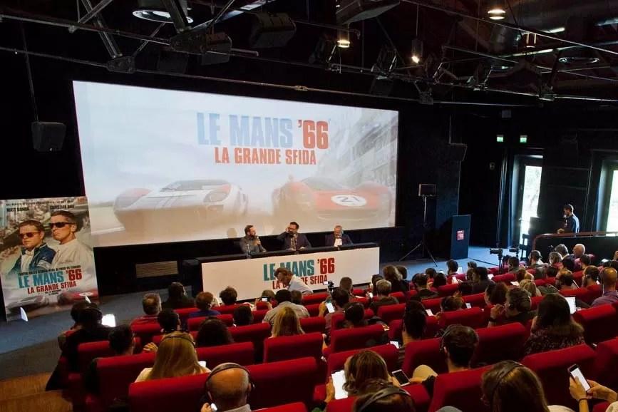 Le Mans 66 - La grande sfida conferenza