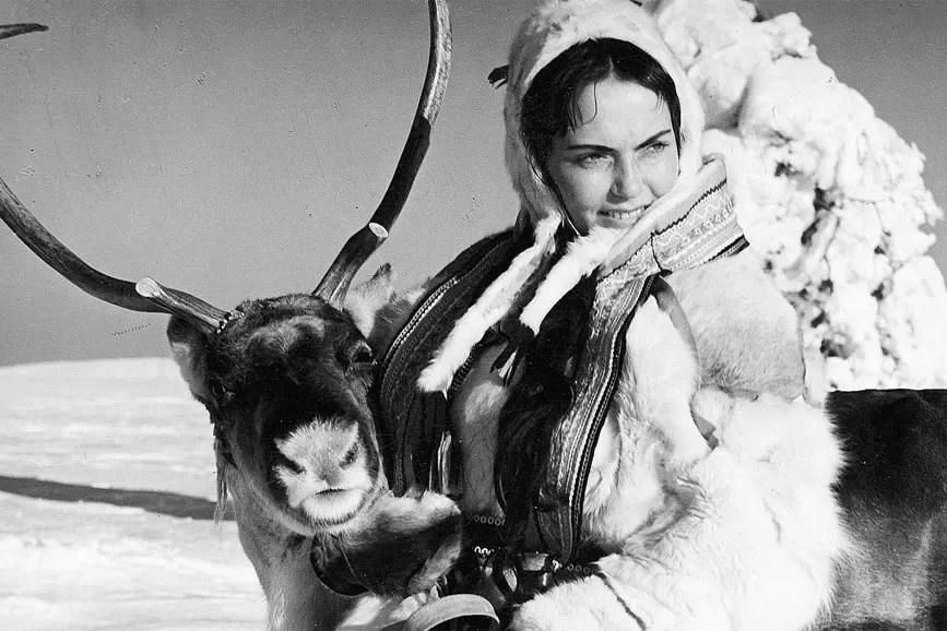 Il bianco pastore di renne scena film