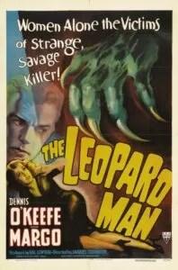L'uomo leopardo poster