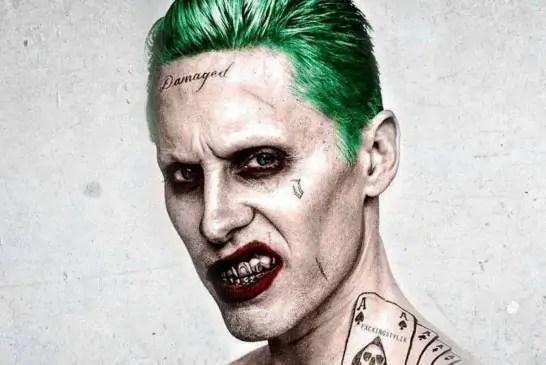 """Jared Leto nel ruolo di Joker nella """"Justice League"""" di Zack Snyder"""