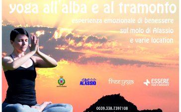 alba-tramonto-essere-free-yoga-molo-experience-esperienza-premium-gratuito-benessere-village-citta-visit-alassio-lucia-ragazzi-wellbeing-wellness