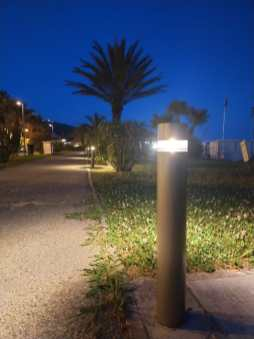 I punti luce di sera