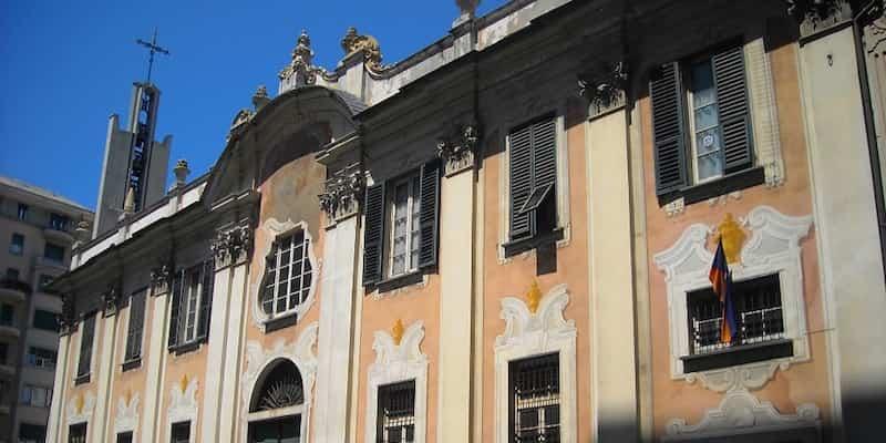 presso l'Oratorio dei Ss Pietro e Caterina,