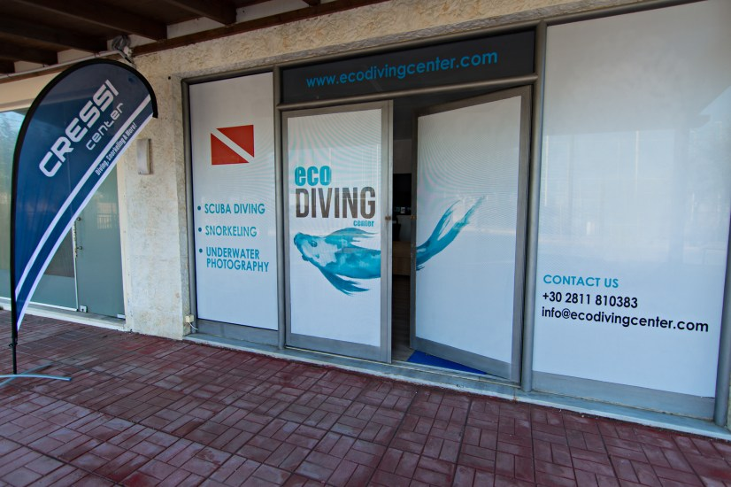 Eco Diving Center outside