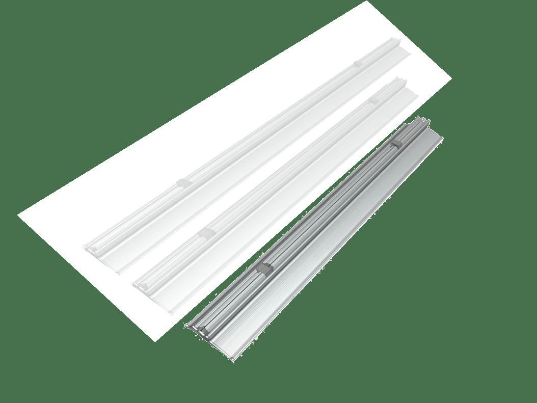 Plafoniere Led Grandi Dimensioni : Plafoniere a led lineari per soffitto di diverse dimensioni