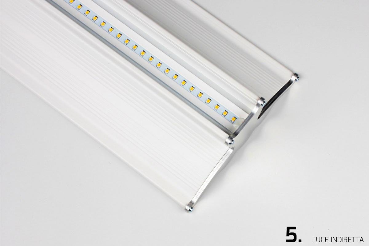 Plafoniere Per Vano Scale : Plafoniere a led lineari per soffitto di diverse dimensioni