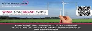 EcofinConcept Wind- und Solarparks