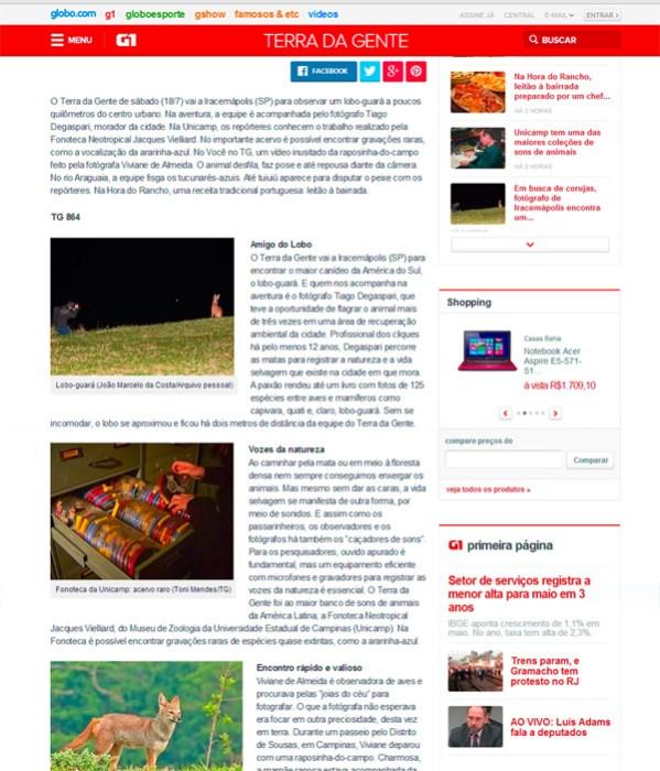 Créditos: TERRA da GENTE (http://g1.globo.com/sp/campinas-regiao/terra-da-gente/)
