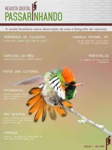 1ª edição da Revista Digital Passarinhando