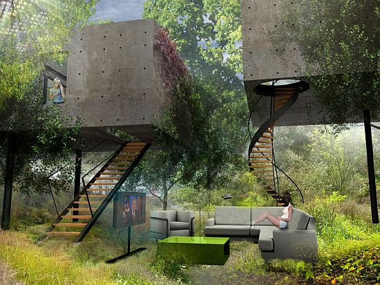17 Of The Coolest Nature Friendly Houses Every Outdoorsman