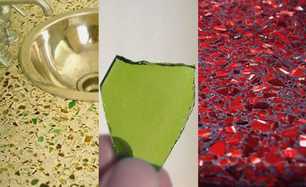 Best Recycled Glass Countertops For Eco Friendly Kitchens Ecofriend