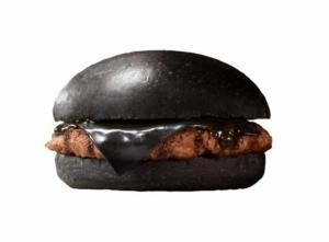 black burger activated charcoal