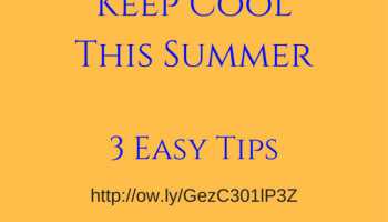 3 Green Cooling Tips For Summer