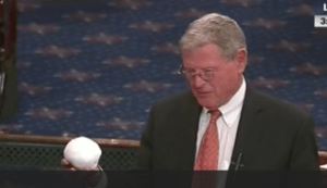 Senator_Inhofe snowball deny climate change is real