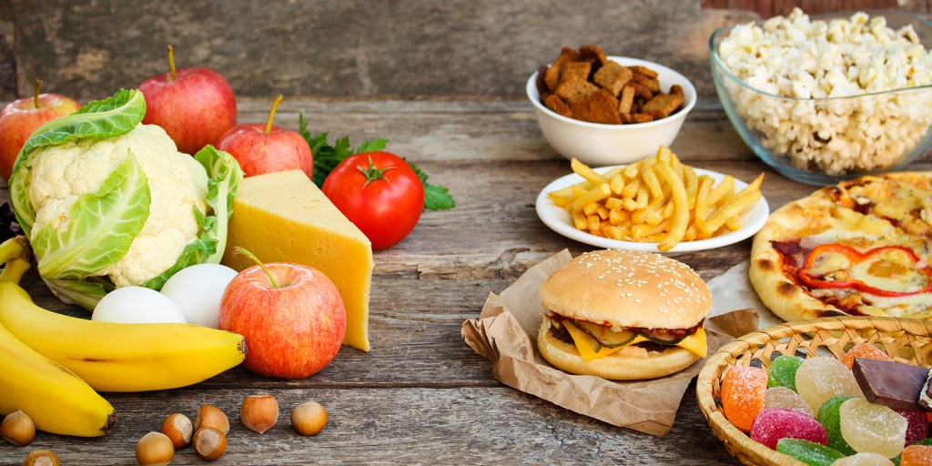 whole foods and processed foods examples
