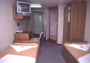 cargo ship cruises cabin interior