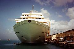 cruise ship not green