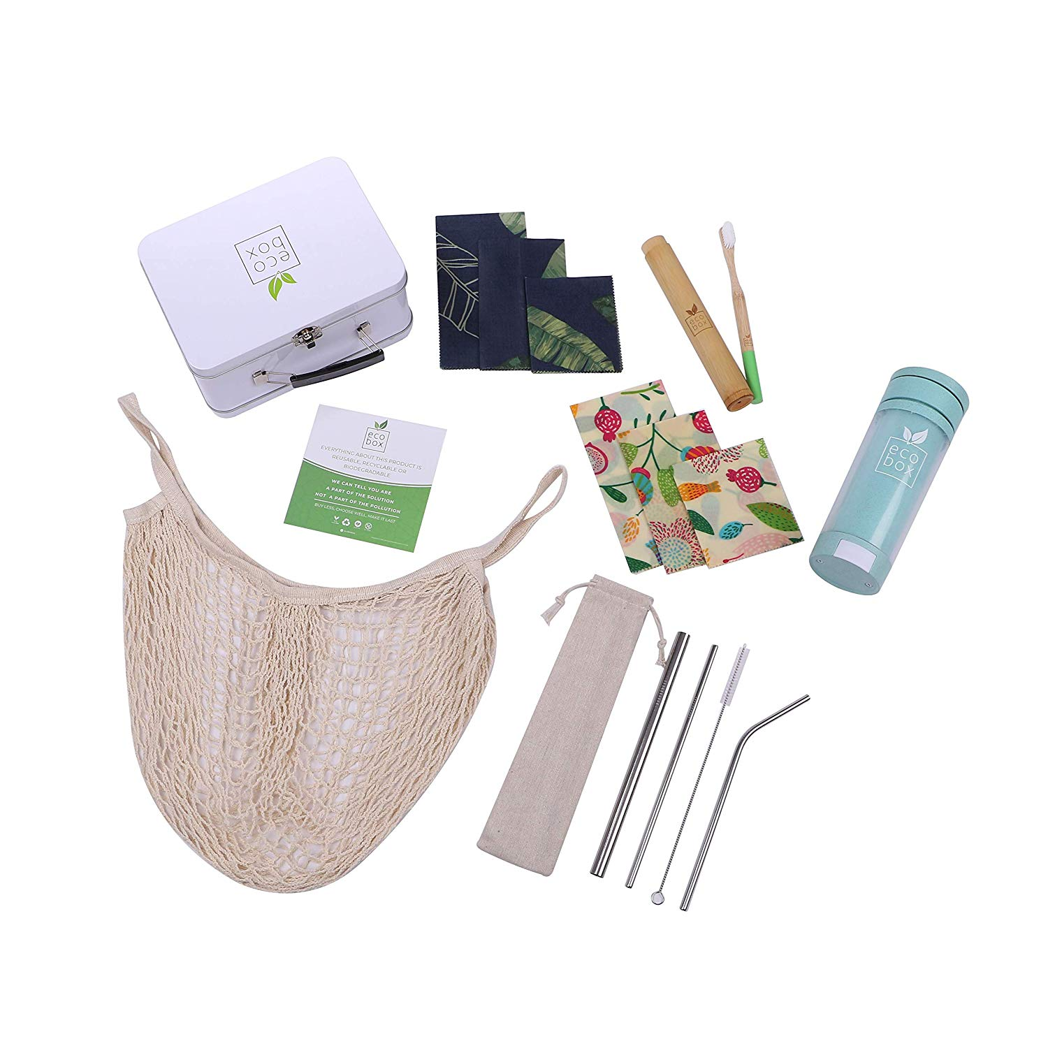 zero waste starter kit contents