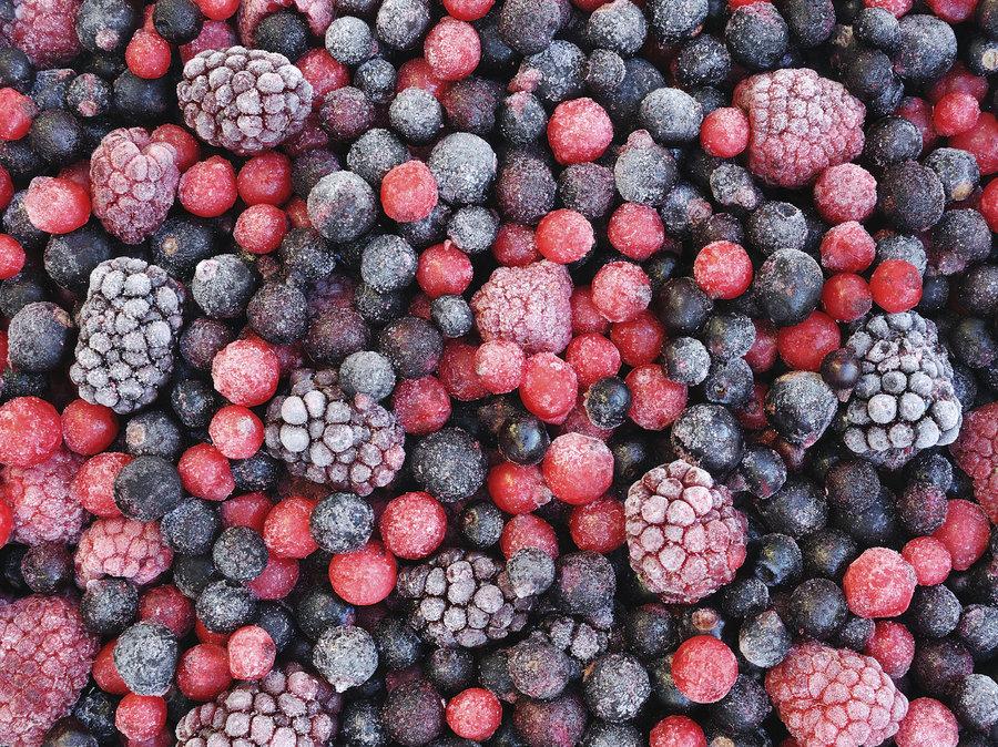 frozen fruit large