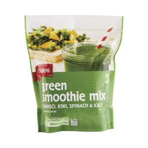 frozen green smoothie mix mostly fruit