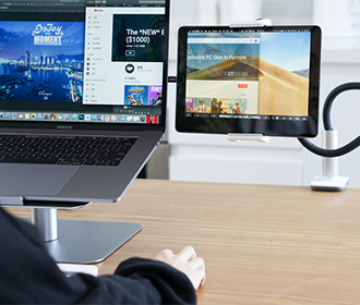 laptop stand for good posture