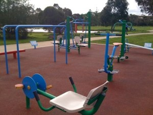 outdoor workouts park