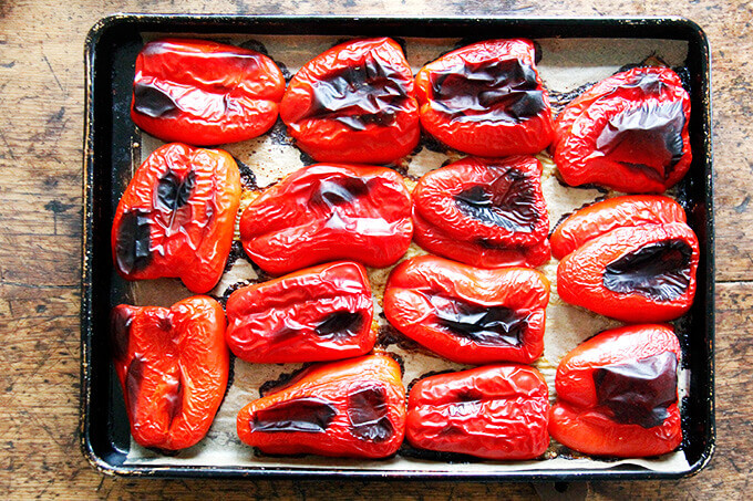 superfood recipes roasted peppers
