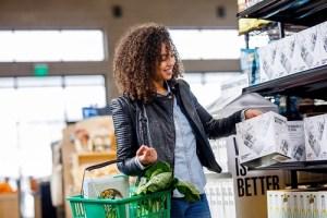 choosing a brand via buying green