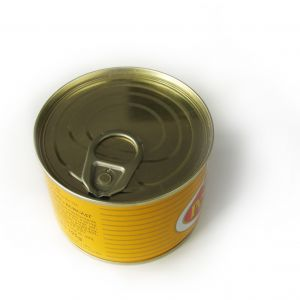 tin can instead of weights