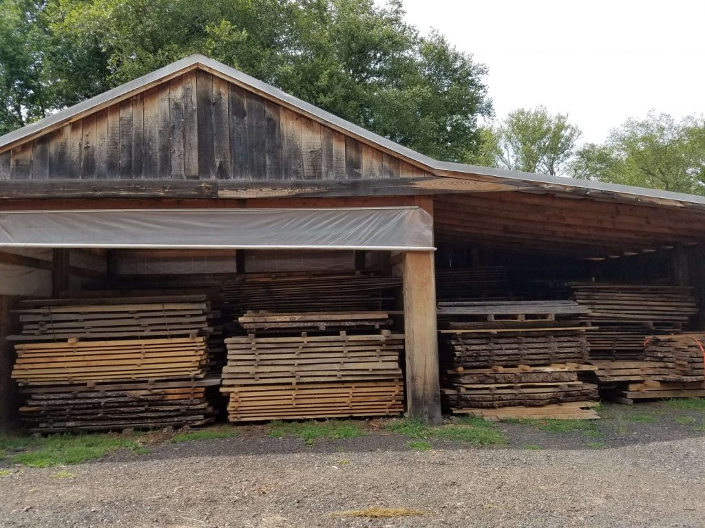 Live edge slabs and reclaimed lumber for sale
