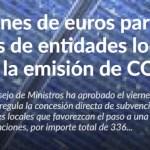 Ecogal Energía ha tramitado ya más de 2.000.000 euros en Subvenciones fondos FEDER.