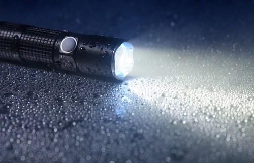 Security LED Flashlight