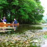 Canoeing in Wales