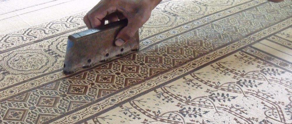 Ajrakh Printing of India