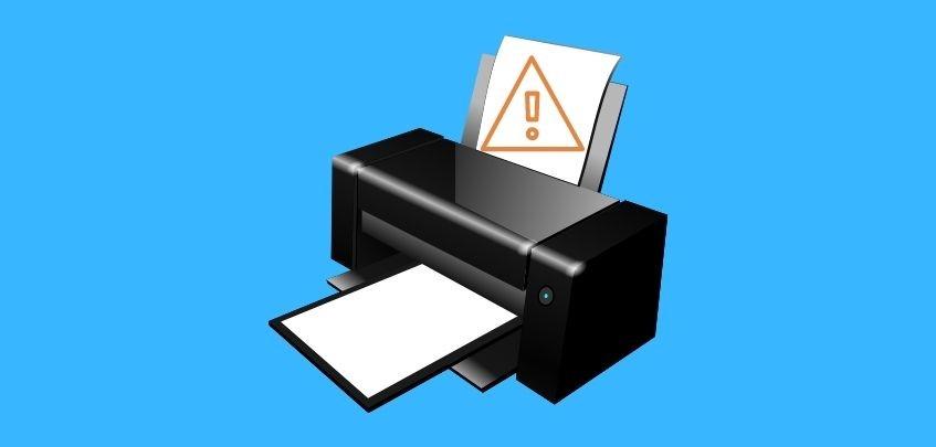 Epson printer is not printing