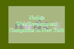 Nodejs Web Development Companies