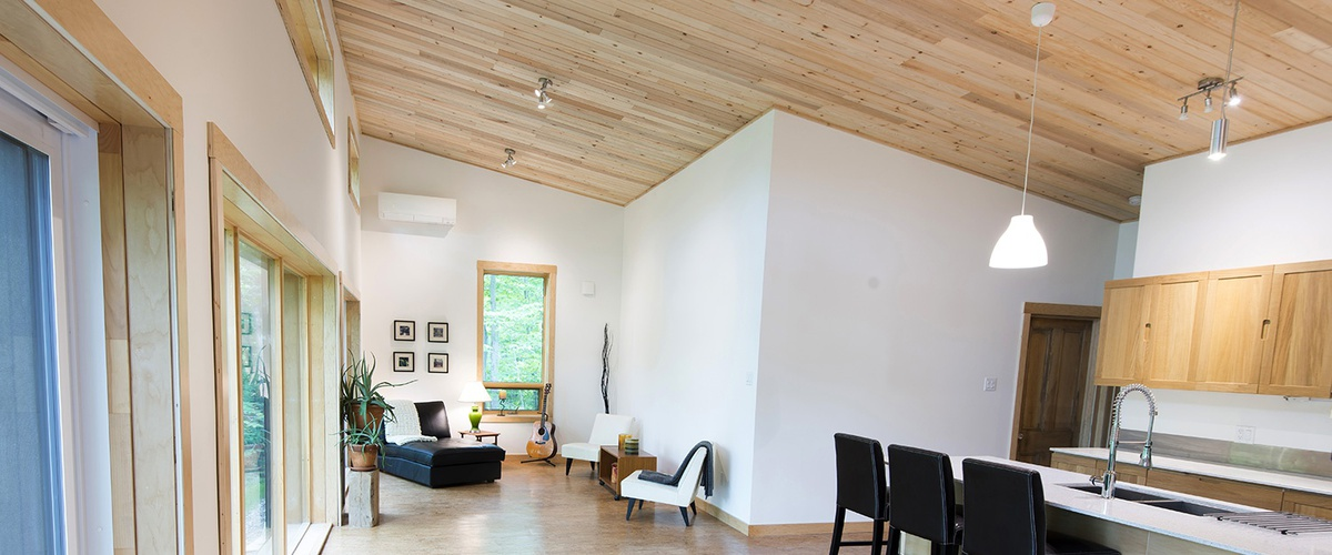 Installing Wood Ceilings Amp Cost Compared To Drywall Ecohome