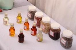 Variety of vegetable oils