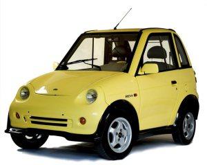 Indian Electric Car Mahindra REVAi