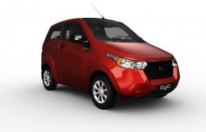 Indian Electric Car Mahindra e2o