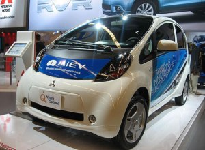 Indian Electric Car Mitsubishi MiEV