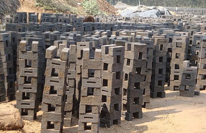 Innovative Green Building Materials Rice Husk Ash brick