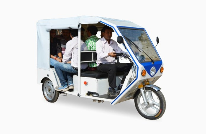 E-rickshaws in India