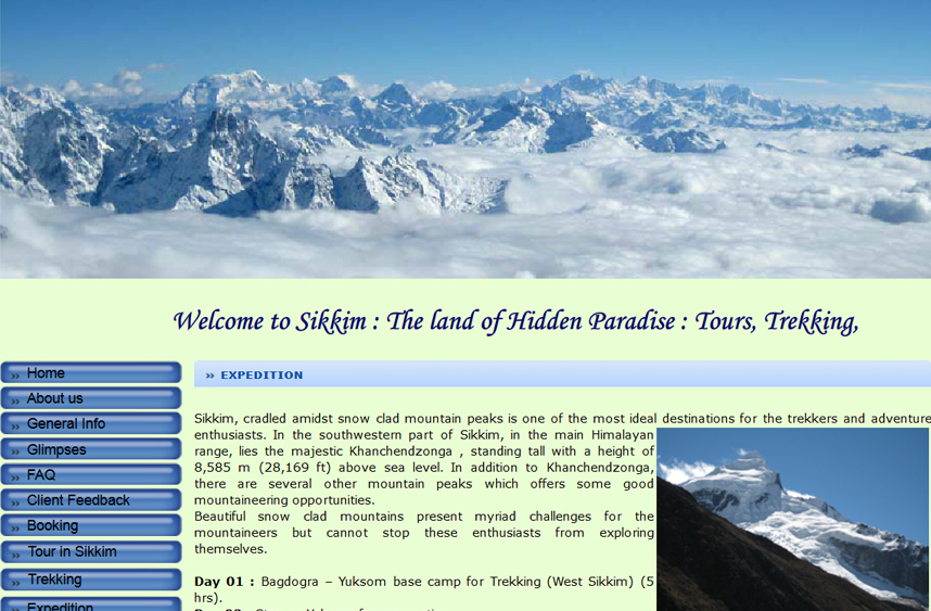 Sikkim Peak Travel