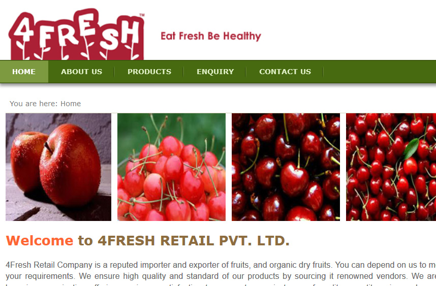4Fresh Retail Pvt. Ltd.