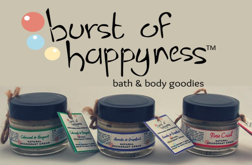 BURST OF HAPPYNESS