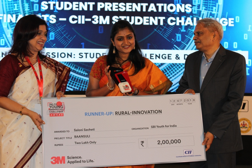 Rural innovations take center stage at 3M-CII Young