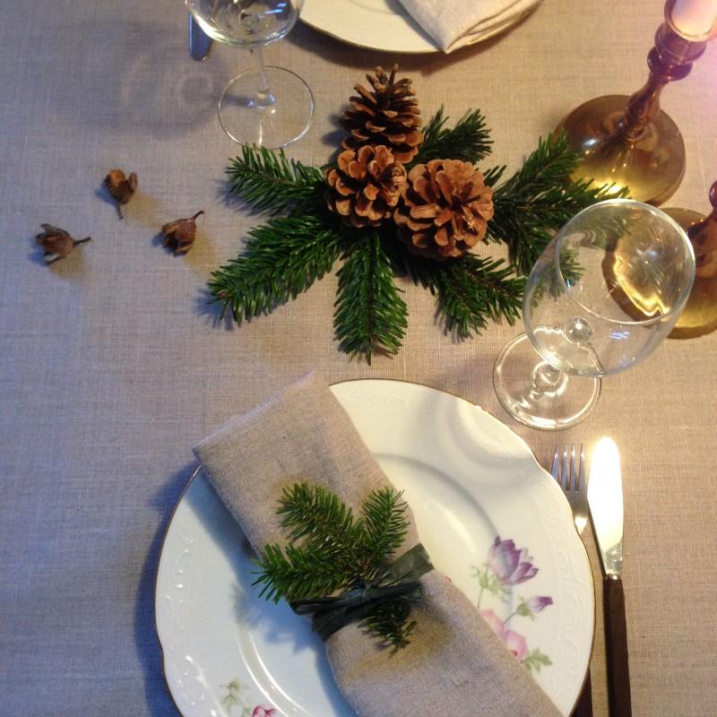 Bæredygtig bordpynt