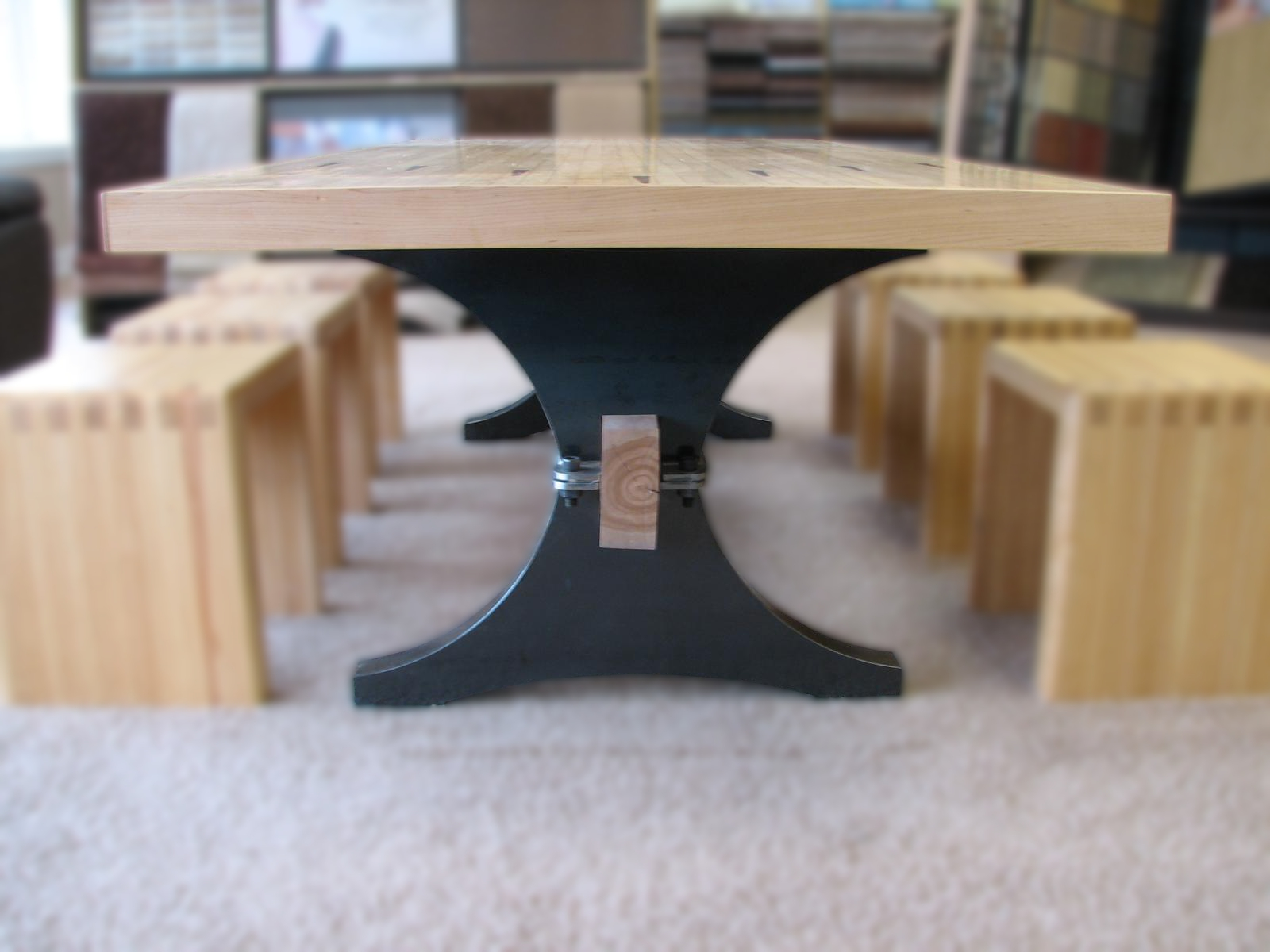 Beach Wood Dining Table