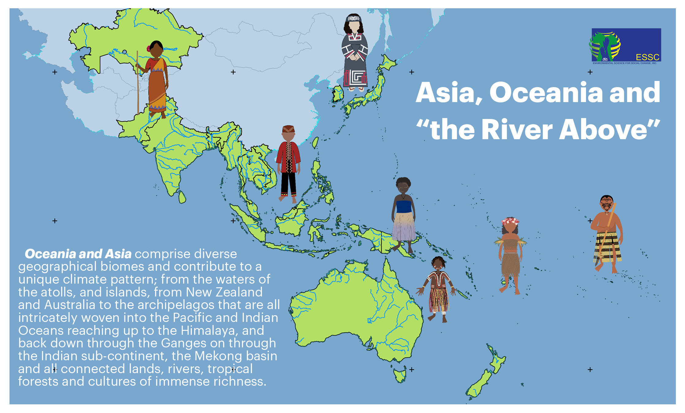 River Above Asia Oceania Ecclesial Network For Forests Oceans And Peoples Ecology And Jesuits In Communication